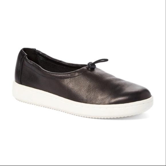 Eileen Fisher Shoes - Eileen Fisher Sydney Washed Leather Sneaker Sz 8